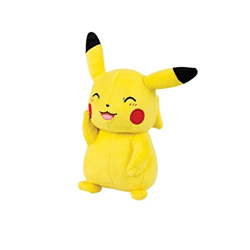 Third Party - Peluche Pokemon - Pikachu Heureux 20cm - 3700936113634 by Third Party