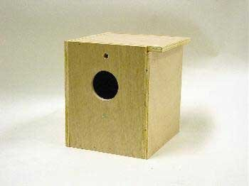 (North American Pet BBO22613 Bob Inside/Out Tiel Nesting Box for)