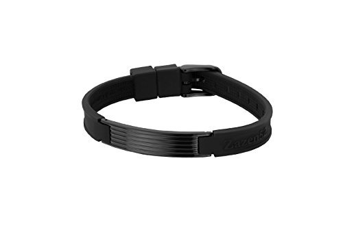 Zenturio Limited Black Wave Element 10mm Edition exclusive magnet/ion/health bracelet – TÜV Rheinland Germany certified – For your health and wellbeing - Without Etui by Zenturio