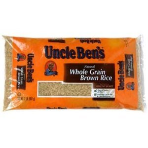 Uncle Ben's Natural Whole Grain Brown Rice 2 Lbs (Pack of 12)