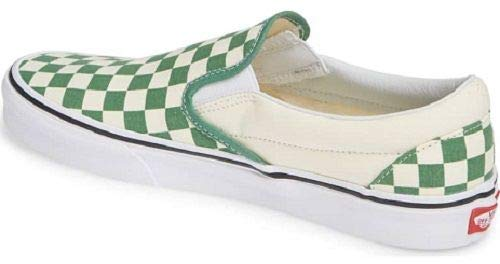 Vans Slip-on(tm) Core Classics ((Chkrbrd) Dp GRS GR/Clswht, 11.5 Men US)