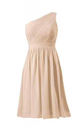 champagne 50 One Bridesmaid Dress BM10822S DaisyFormals Vintage Short Party Dress Shoulder ZqvFg7