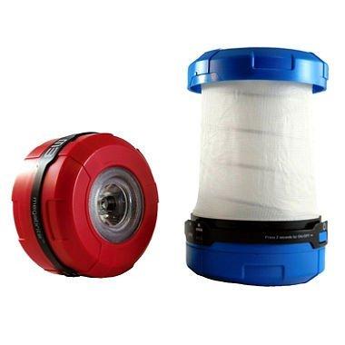 Megabrite LED Pop-up Flashlight/Lantern with Batteries (Four Pack)