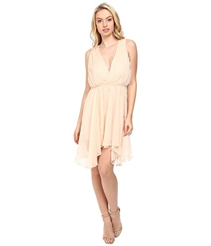 Keepsake The Label Women's All Rise Mini Dress Biscuit Dress LG