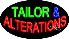 Tailor & Alterations - Flashing - Neon Sign