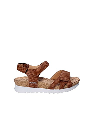 Mephisto P5127093 Wedge Sandals Women Brown