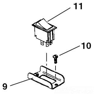 Kohler Ridgid 10408 Switch Guard StandardPlumbing