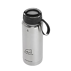 Polar Bottle Thermaluxe Vacuum Insulated Stainless Steel Thermos Travel Mug, Stainless, 22 oz.