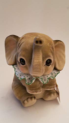 The Cutest Baby Circus Elephant with Big Adorable Eyes Piggy Bank Figurine: Approx 6