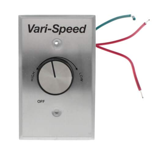 Fantech Wc 15 Speed Control With On Off Switch 115v 5 Amp
