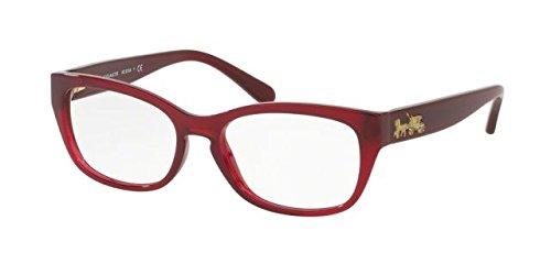 Coach Women's HC6104 Eyeglasses Aubergine - Mens Optical Best Glasses