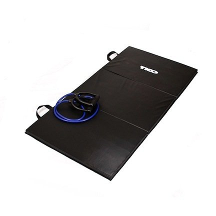 TKO Home & Gym Folding Exercise Mat 3' x 6' by TKO
