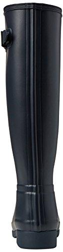 Bottines Femme navy amp; Hunter Original Pluie Bottes Rouge Refined De 6wqnnIvPF