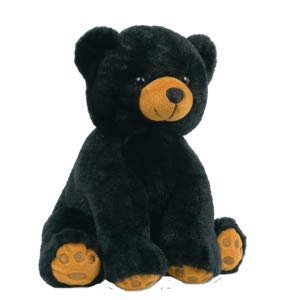 BEARegards Comfort Bears Personalized Long Message Recordable 15 Inch Talking Black Teddy Bear w/ 60 Seconds of Recording Time. by BEARegards Comfort Bears