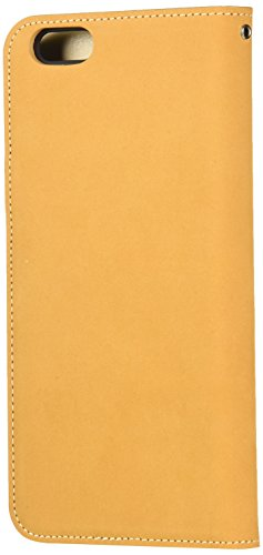 LIM's Design Premium Leather Diary Case for iPhone 6 Plus (Light brown)