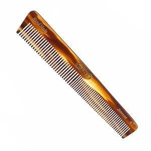 Kent 4T 6''148mm The Hand Made General Grooming Comb Coarse/Fine Hair. Sawcut (3 PACK)