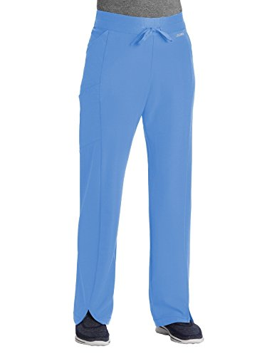 (Jockey Performance RX Get-Up-and-Go Scrub Pant Ceil Blue, Large)