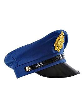 DISBACANAL Gorra policia  Amazon.es  Juguetes y juegos 6f27c796049