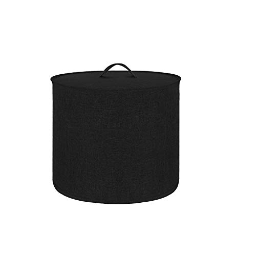 Appliance Cover Dust Cover Watetproof for 8 Quart Instant Pot,Electric Pressure Cooker Rice cooker,Air Fryer and Crock Pot, Machine Washable (Black, For 8 Quart Instant Pot)