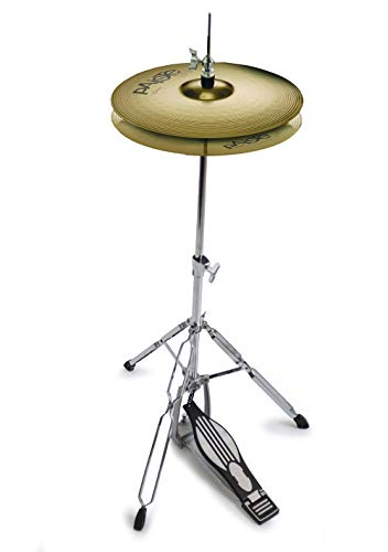 Paiste 14' 101 Cymbals P101HAT14 And Mapex Tornado Hi-hat Stand