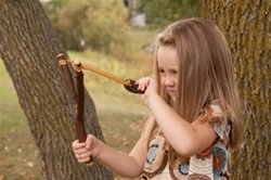 Wooden Sling Shot Toys Made product image