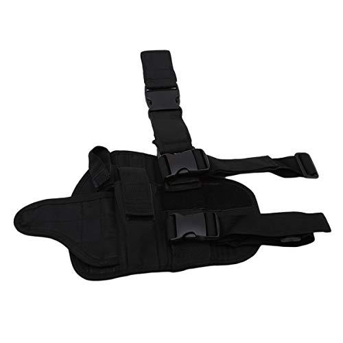 Winwinfly Ajustable Tactique puttee Cuisse Jambe Shoulder Pistolet Holster Sac de Chasse en Plein air Accessoires 2