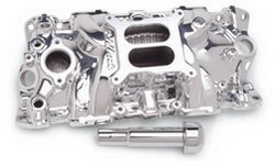 Edelbrock 27034 SBC Performer EPS Manifold - Endurashine - Performer Eps Manifold