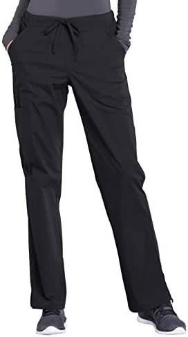 CHEROKEE WW Professionals WW160 Women's Straight Leg Drawstring Pant