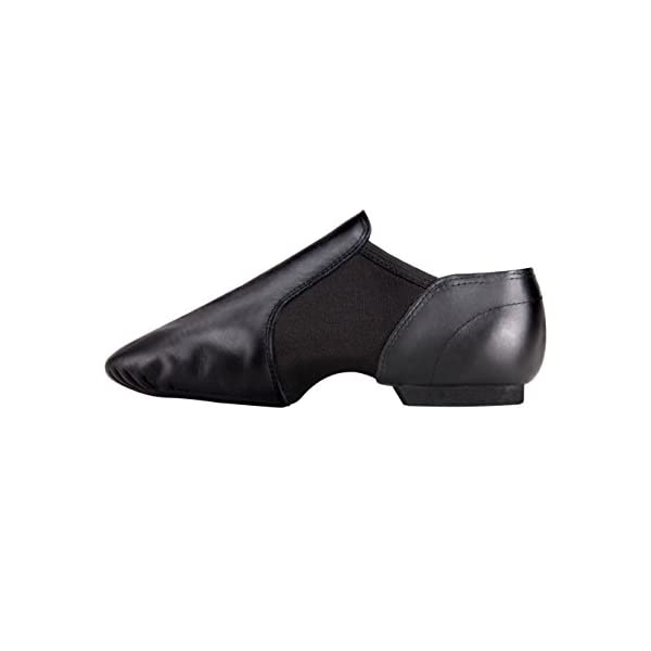 Linodes Leather Jazz Shoe Slip On for Girls and Boys (Toddler/Little Kid/Big Kid)