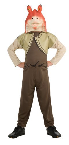 Jar Jar Binks Star Wars Episode One Costume Child Size T Toddler 3-4