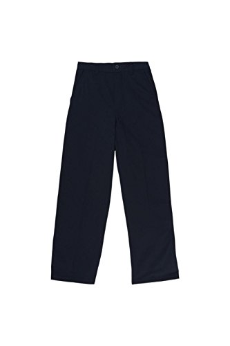 Navy School Uniform Pants (French Toast Little Boys' Toddler Pull-On Pant, Navy, 4T)