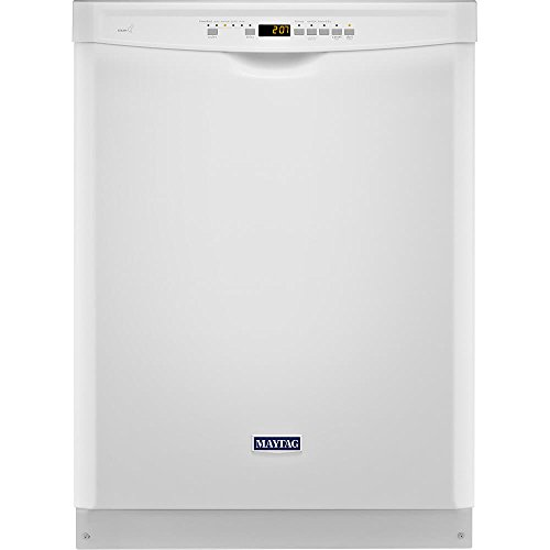 "Price comparison product image 24"" 50 dBA Control Dishwasher with 4-Blade Finish: White"
