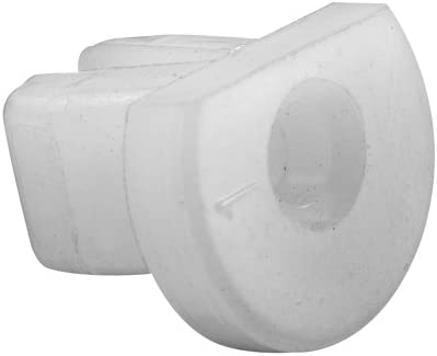 4-Pack Prime-Line Products G 3142 Guide Buttons White Plastic