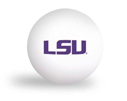 Laser Magic NCAA LSU Louisiana State University Tigers 6 pack Ping Pong Balls