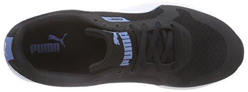 Puma FTR ST Runner 2 Mesh - zapatilla deportiva de material sintético Unisex adulto Negro - Schwarz (black-white-blue heaven 07)