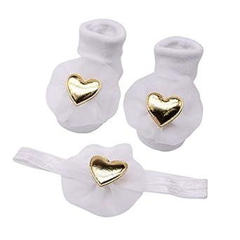 MCYYY Calcetines para bebé Calcetines suaves para niña ...