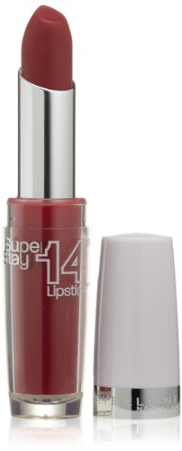 Maybelline New York Superstay 14 hour Lipstick, Enduring Ruby, 0.12 Ounce