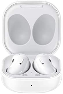 Samsung Galaxy Buds Live, True Wireless Earbuds w/Active Noise Cancelling (Wireless Charging Case Included), Mystic White (US Version)