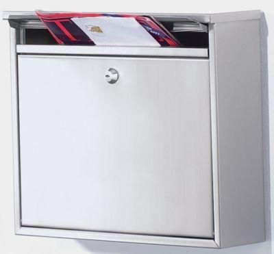 Boîte aux lettres - Ouverture à clapets - Inox V-Part VB 440060