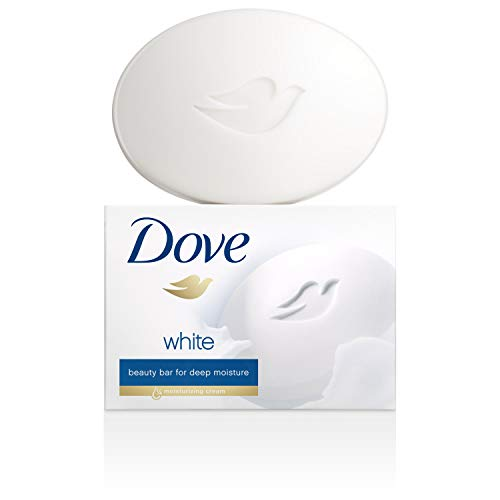 Dove Beauty Bar Gentle Cleanser for Softer and Smoother Skin with 1/4 Moisturizing Cream White More Moisturizing than…