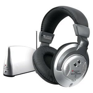 Sentry Computers Headphones - Sentry Wireless Headphones Black Clam Pack - Sentry HO800