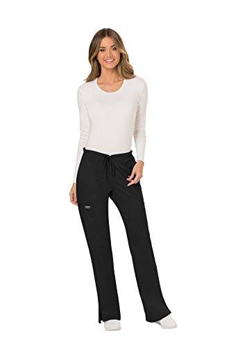 Classic Black Drawstring Pants - 4