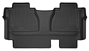 Husky Liners 53851 Black Second X-act Contour 2nd Seat Floor Liner (Full Coverage)