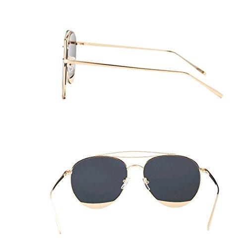 Gafas de Ronda Gafas de verano Color Amazing sol de D pareja calle xwI47qX04