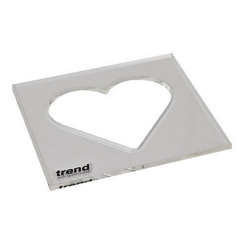 Trend TEMP/IN/HEA Heart Inlay Template - Inlay Template