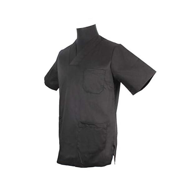 Misemiya Camiseta Casaca Unfiromes Sanitarios Unisex Camisa de sanitario, Hombre 5