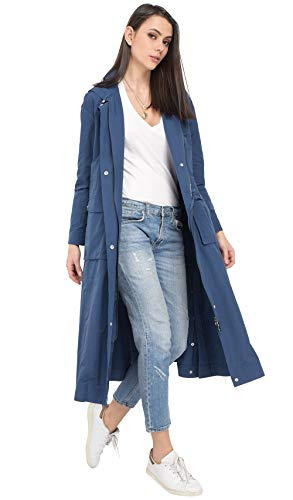 Bleu Long Imperméable Oakwood Marine 63220 q5tBp0