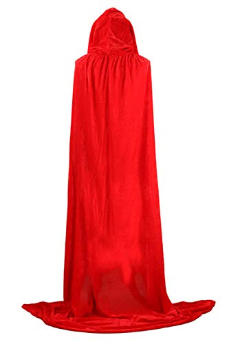 Mantelli Sopliagon Cosplay Costume Le Di Red Dimensioni Incappucciato Halloween Più Donne R6xRpF