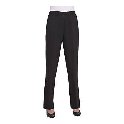 Alia Nygard Women's Petite Microfiber Twill Pull-On Pant at Women's Clothing store