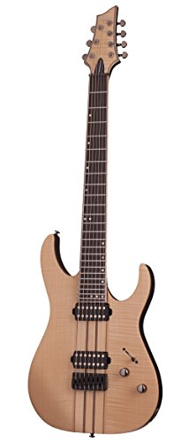 Schecter BANSHEE ELITE-7 Gloss Natural 7-String Solid-Body Electric Guitar